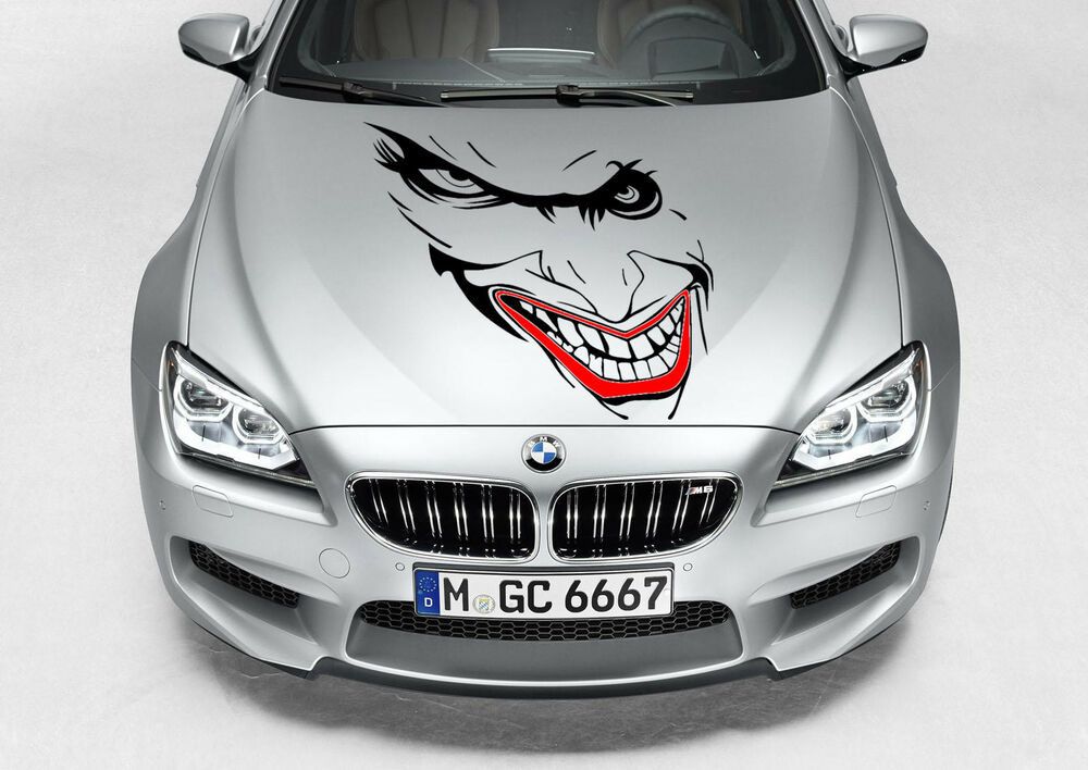 Joker Batman Decal Vinyl Graphic Hood Side Car Truck Ebay