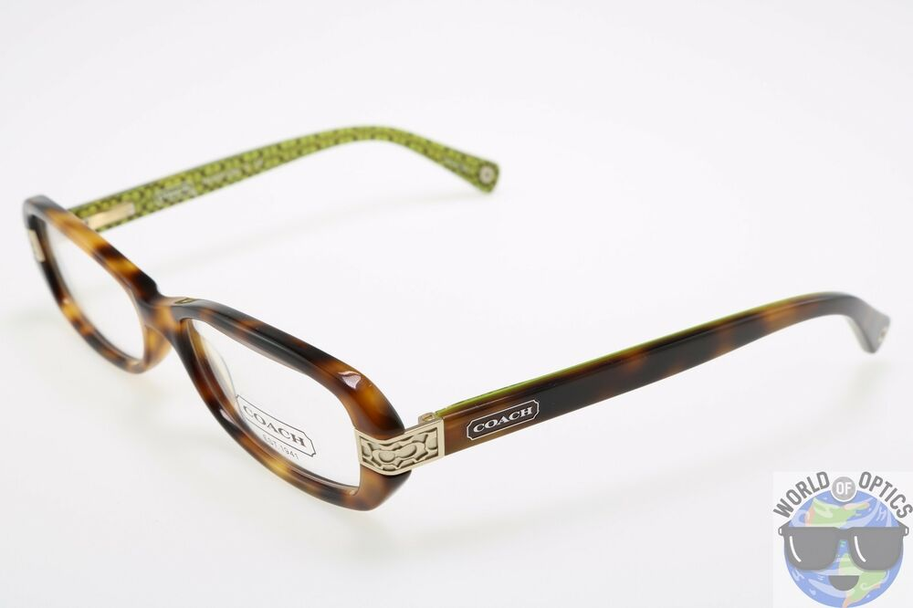 Coach RX Eyeglasses HC 6004 5031 (Lilly) Tortoise/Green ...