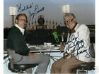 HARRY CARAY & JIM PIERSALL signed photo in Comiskey HOF