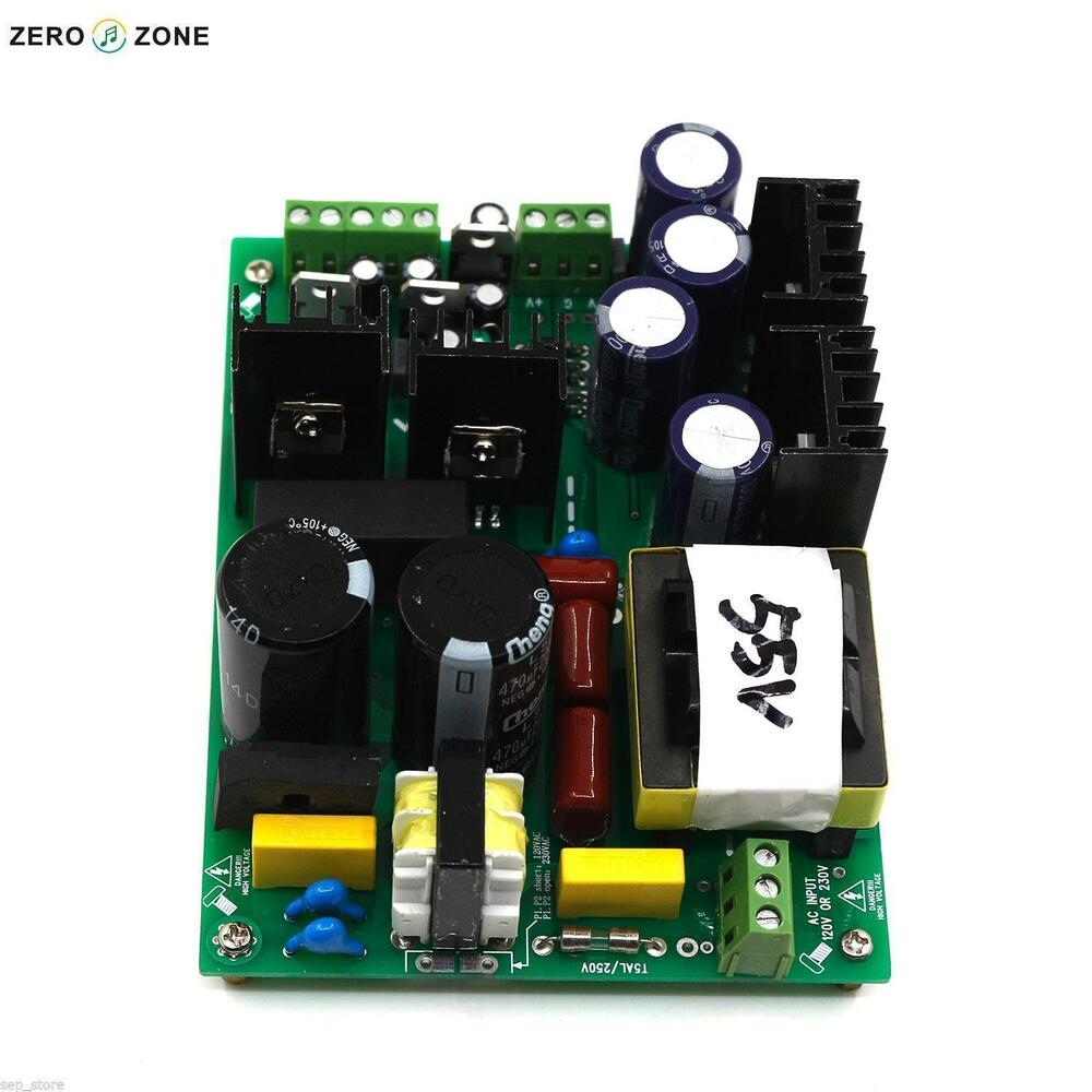 New 500w Amplifier Switching Power Supply Board Dual