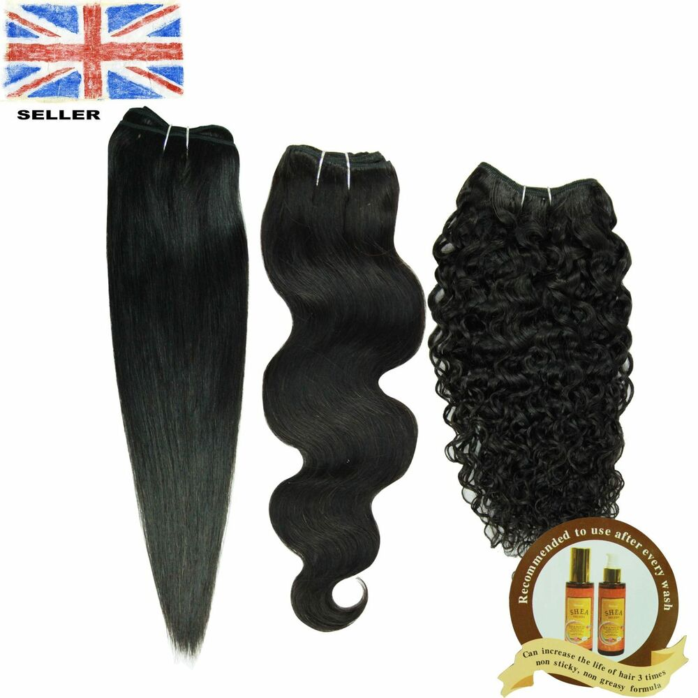 Brazilian 100 Human Hair Remy Hair Extension Weave 315g Unprocessed