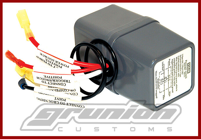 Viair 200 Psi Pressure Switch W   40 Amp Relay 12v Onboard