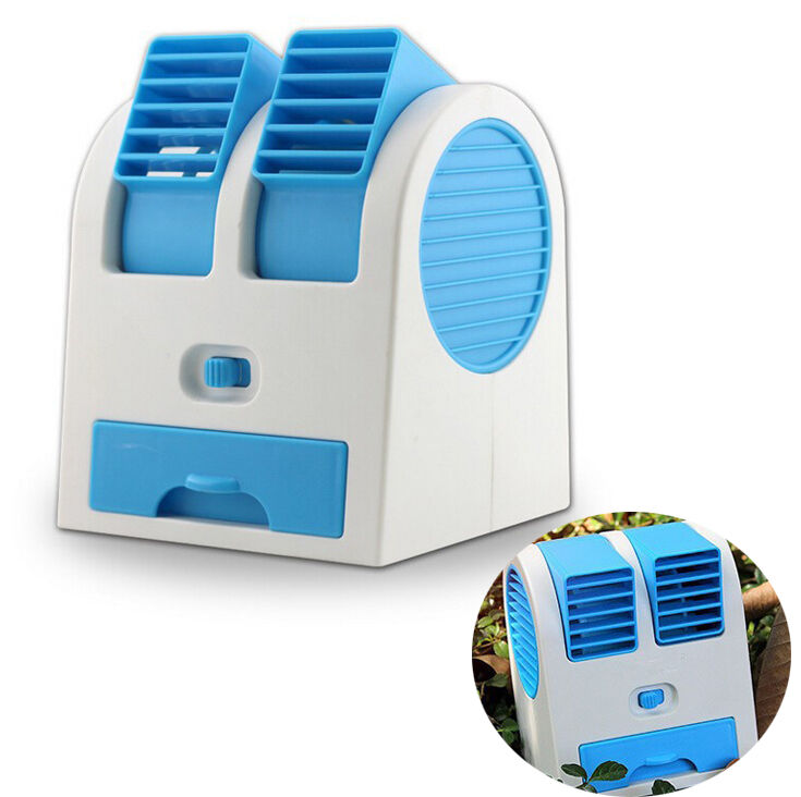 mini portable cooler cooling desk usb fan small air