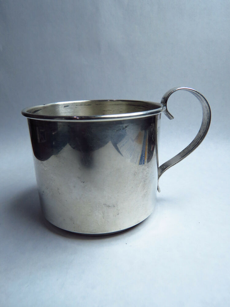 Vintage Webster Sterling Silver Baby Cup 50 Grams 2 Quot Tall
