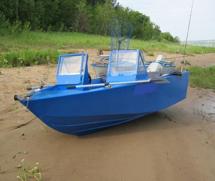 Boat plans how to build a fishing boat ebay for Build fishing boat