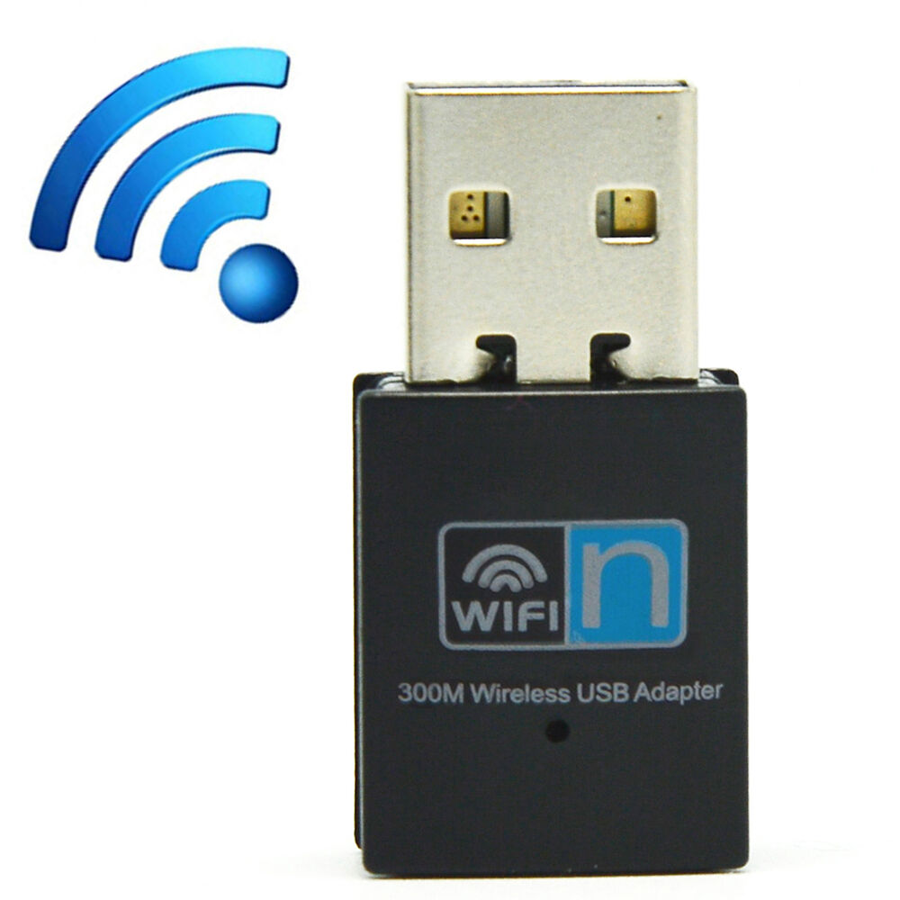 300mbps mini wifi wlan wireless adapter receiver card usb 2 0 dongle ebay. Black Bedroom Furniture Sets. Home Design Ideas