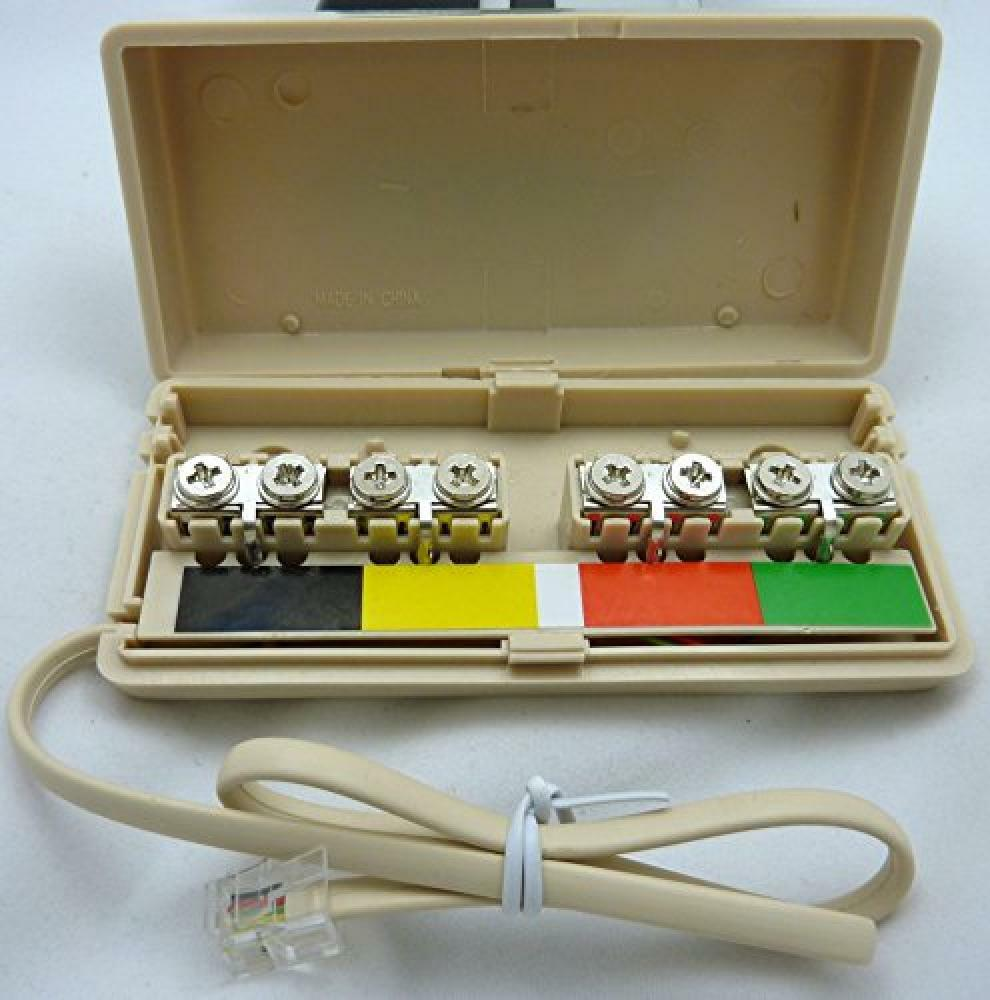 Philmore Telephone Line Ivory Junction Box  Tec38  New  Free Shipping