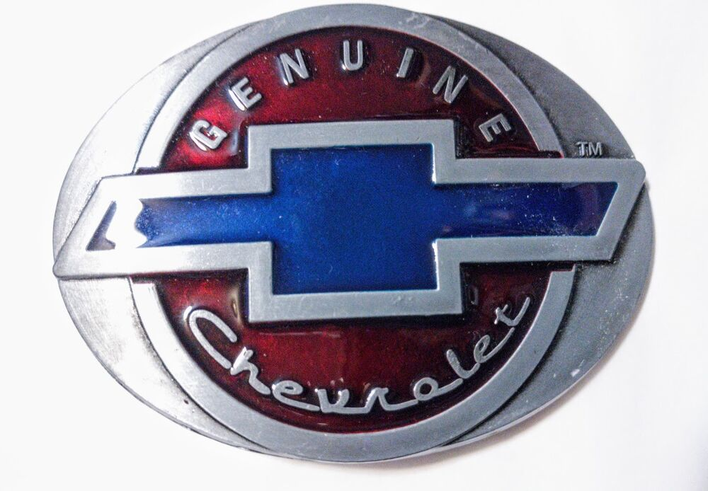 Classic Retro Chevy Logo Belt Buckle Collectible Gift