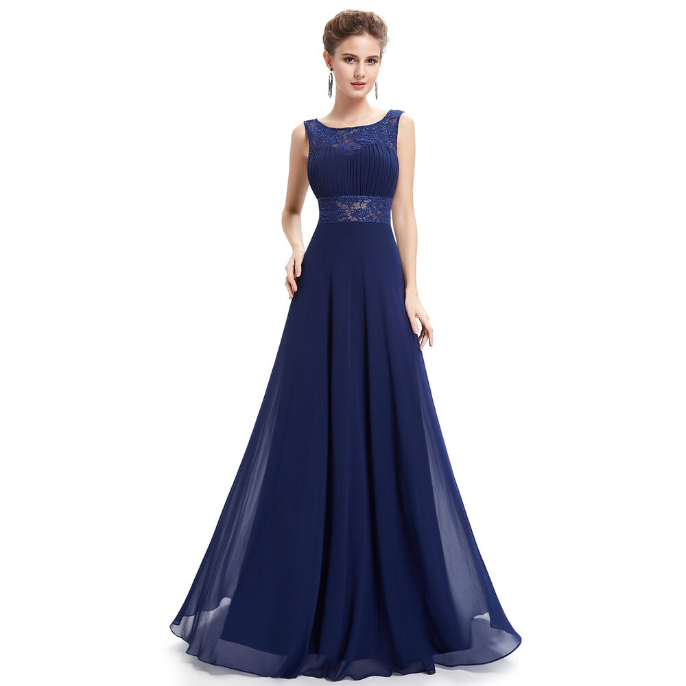 Uk long formal evening prom party dress bridesmaid dresses for Evening gown as wedding dress