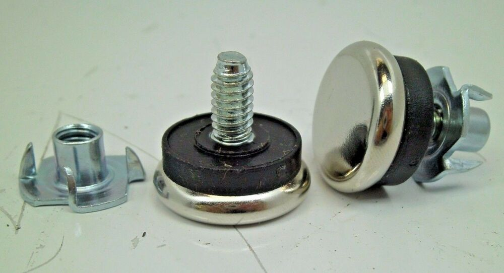 Leveling Parallel Nuts : Adjustable furniture chair base leveling glides feet