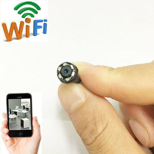 wireless network wifi ip hd tiny pinhole mini diy spy hidden camera dvr recorder ebay. Black Bedroom Furniture Sets. Home Design Ideas