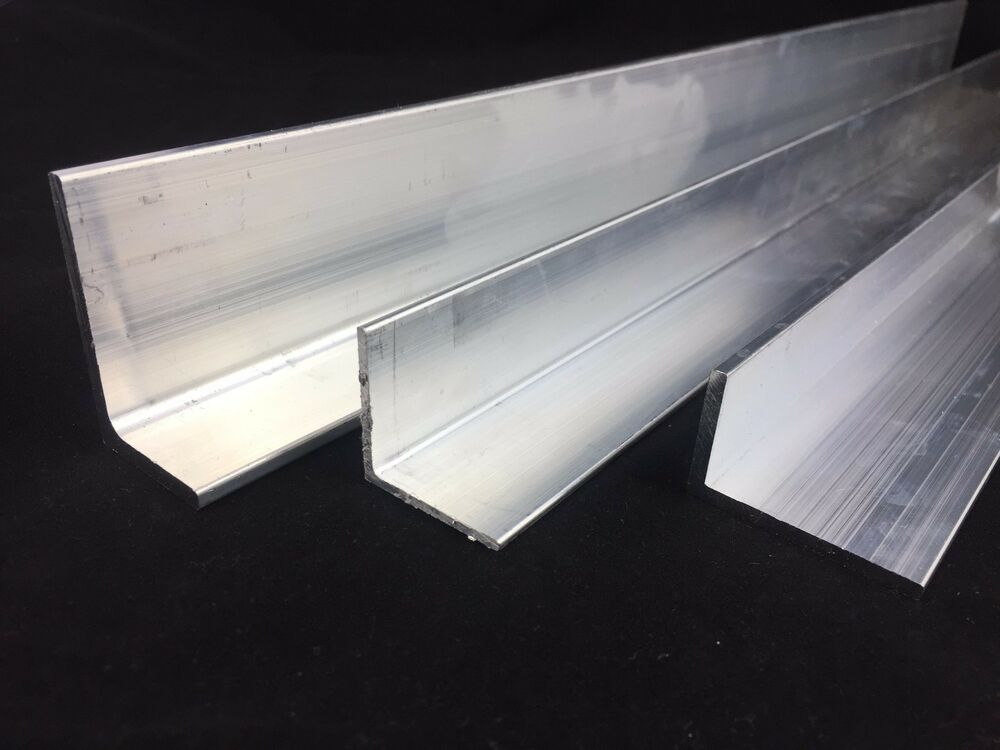 Aluminium Extruded Angle Various Sizes Thickness 2 6 Mm
