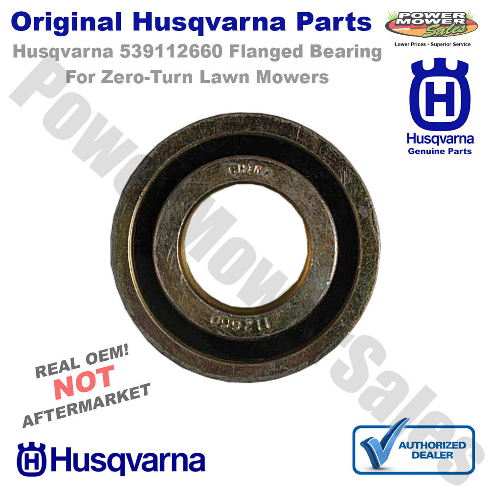 Lawn Mower Wheel Hubs : Husqvarna  flanged bearing for zero turn lawn