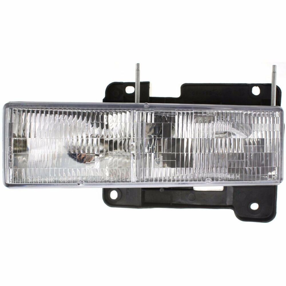 1994 1995 1996 1997 1998 chevy c1500 silverado head light lamp left driver side ebay. Black Bedroom Furniture Sets. Home Design Ideas