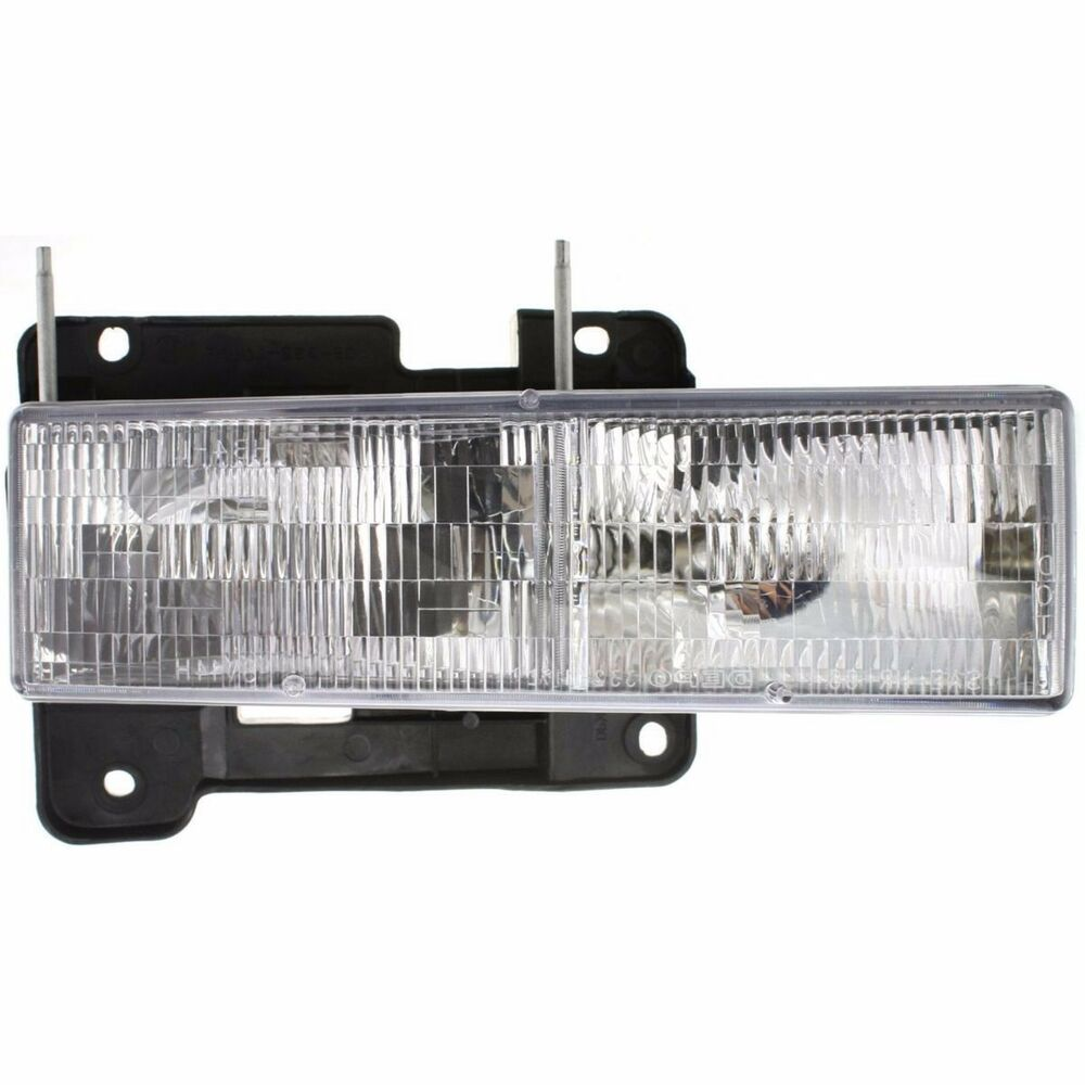 1994 1995 1996 1997 1998 Chevy C1500 Silverado Head Light