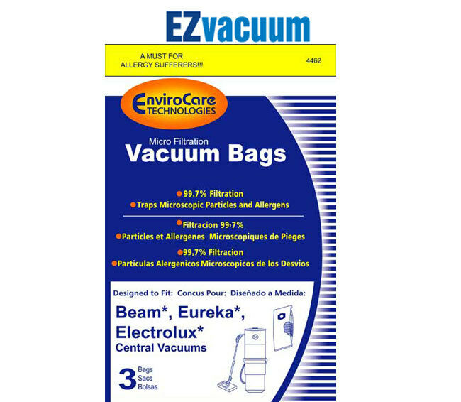 Electrolux Beam Central Vacuum Cleaner Allergen Bags 6