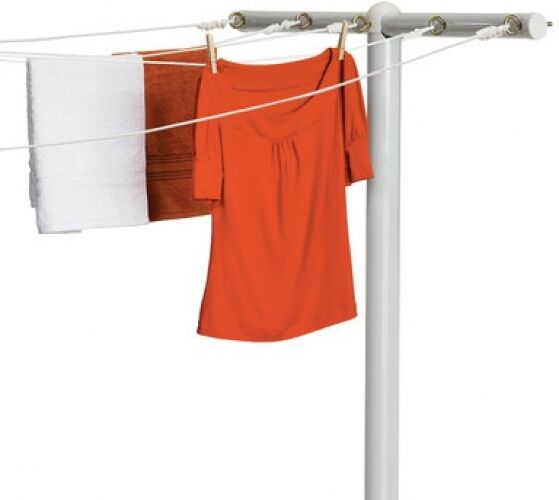 Outdoor Clothes Dryer ~ Outdoor clothes line dryer laundry hanger rack t post