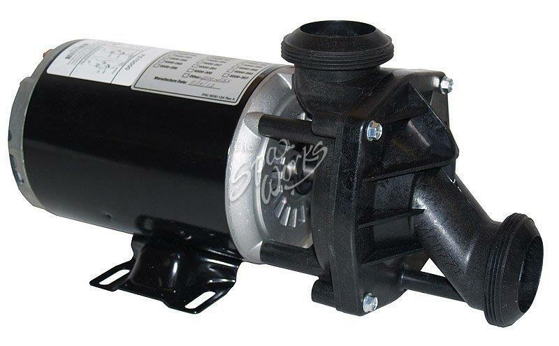 Jacuzzi hot tub j pump 120v 2 speed f57000 2500 255 ebay for Jacuzzi tub pump motor