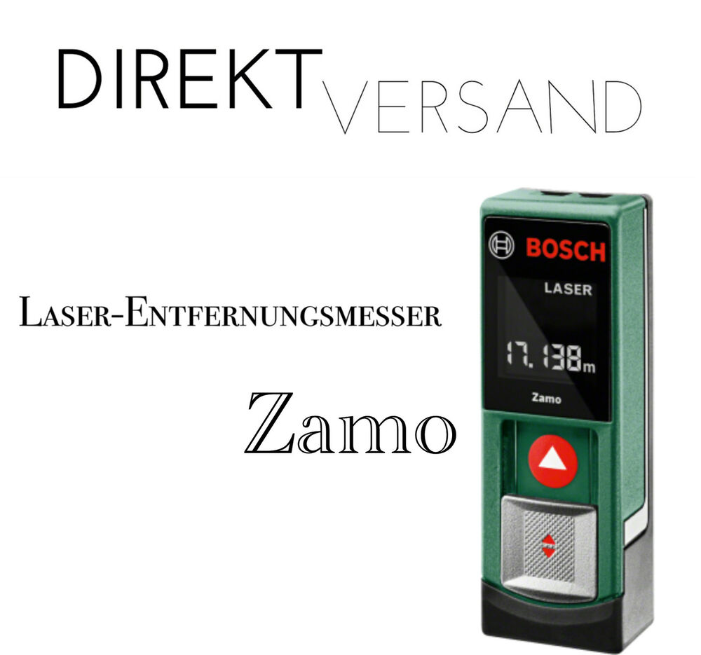bosch digitaler laser entfernungsmesser zamo ebay. Black Bedroom Furniture Sets. Home Design Ideas