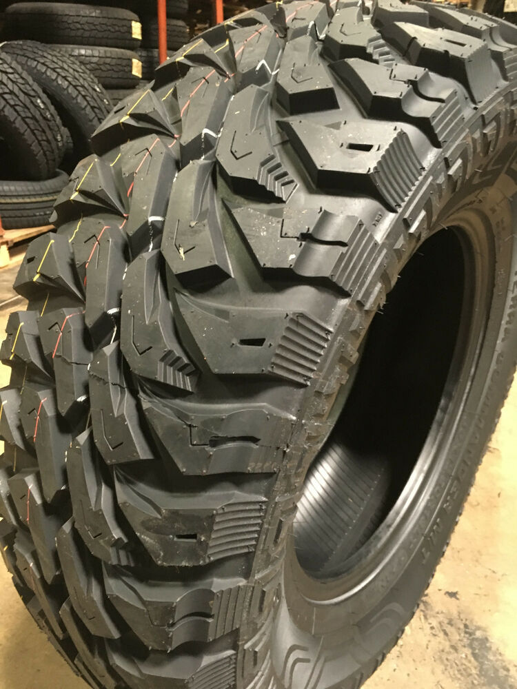 4 New 35x12 50r18 Centennial Terra Commander M T Mud Tires