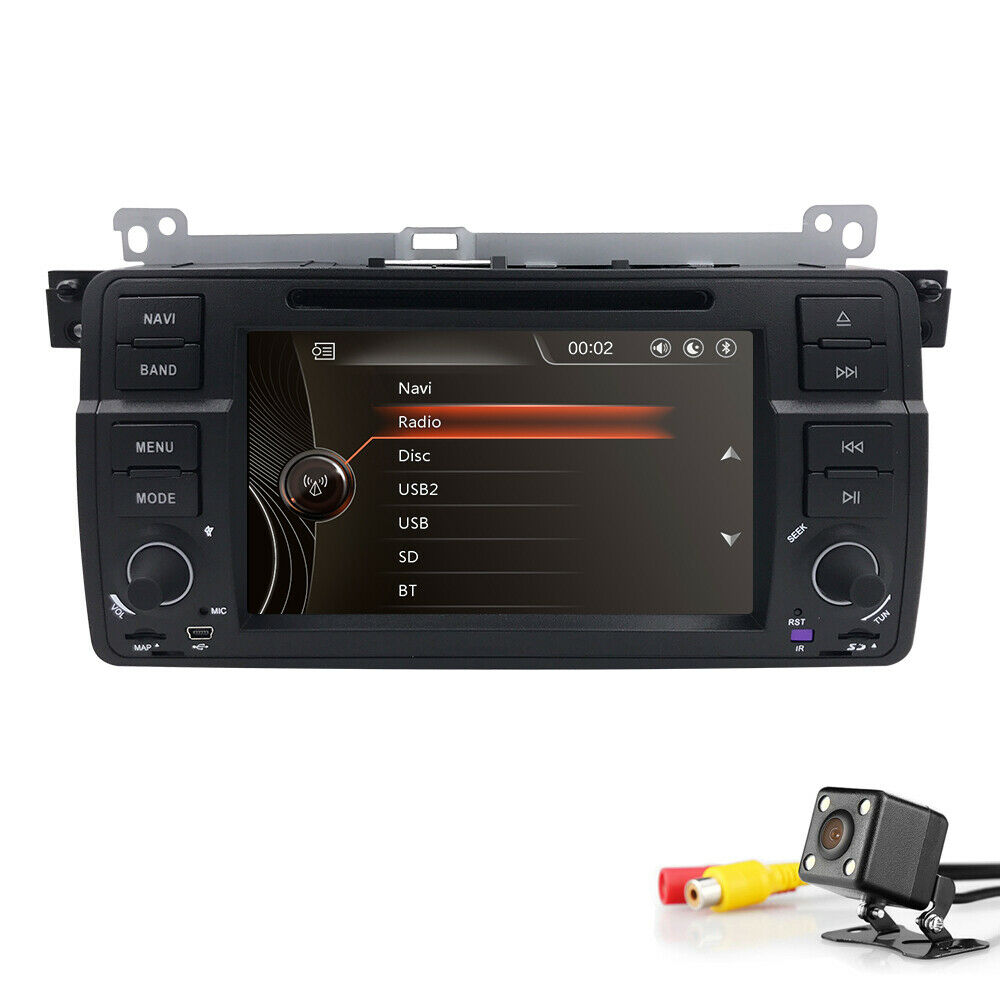 in dash car dvd player gps radio stereo for bmw 3 series e46 7 touch screen e ebay. Black Bedroom Furniture Sets. Home Design Ideas