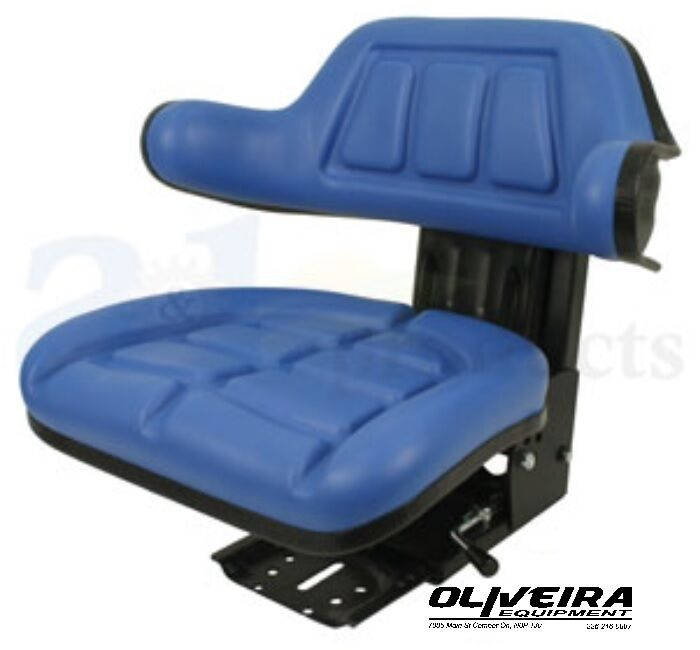Tractor Seat Suspension Parts : Blue tractor suspension seat ford new holland wrap around