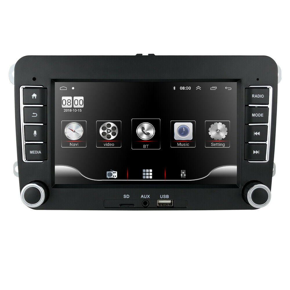 2016 2 din size car stereo dvd gps radio for vw passat t5. Black Bedroom Furniture Sets. Home Design Ideas