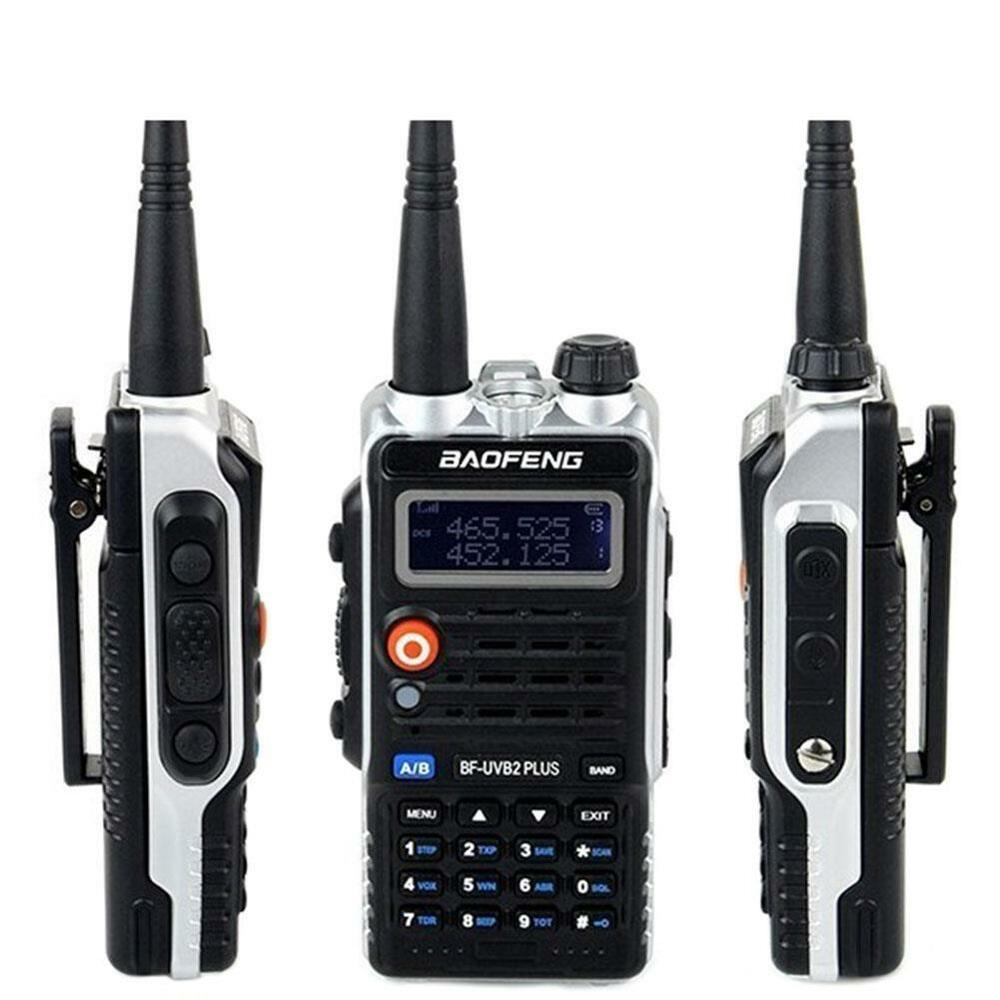 baofeng walkie talkie bf uvb2plus vhf uhf dual band ctcss two way radio 769700000177 ebay. Black Bedroom Furniture Sets. Home Design Ideas