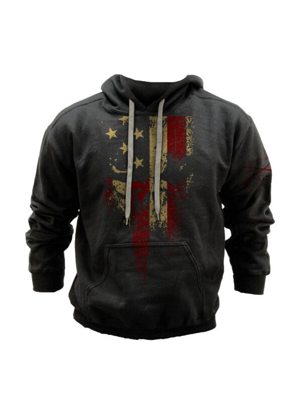 American Reaper Sweatshirt Grunt Style Military Charcoal