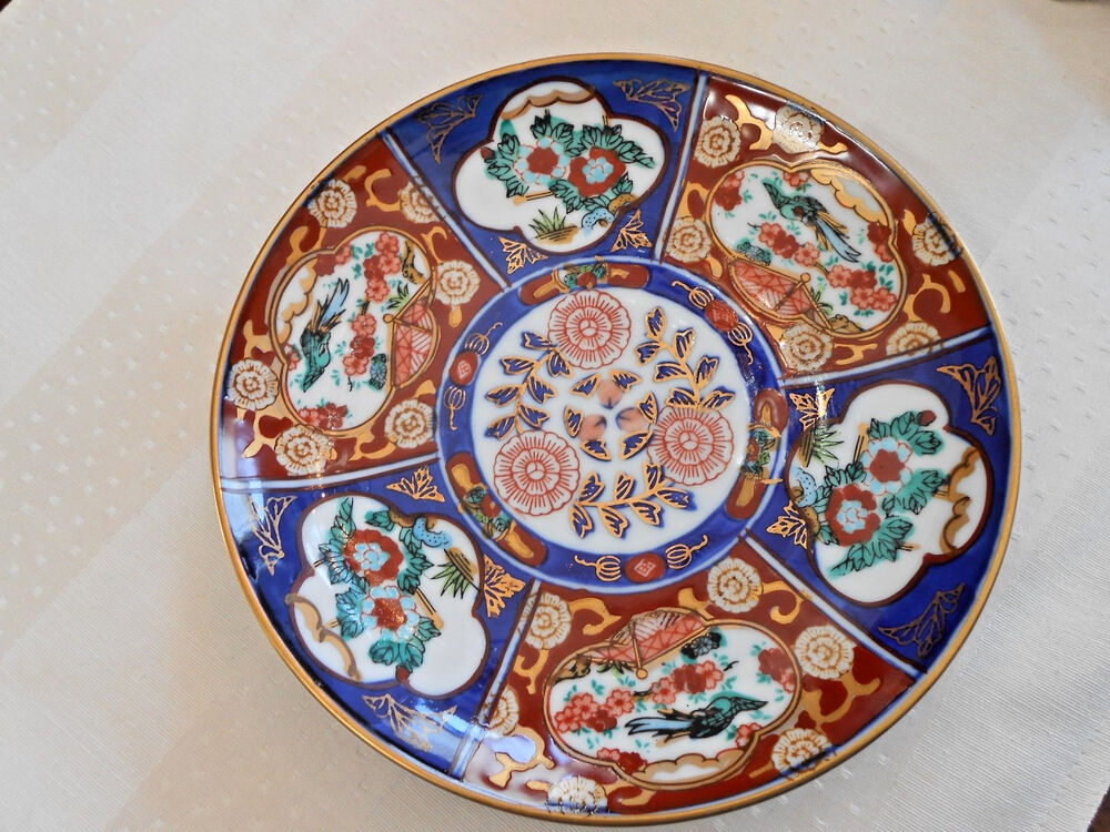 Hand Painted Plate From Japan