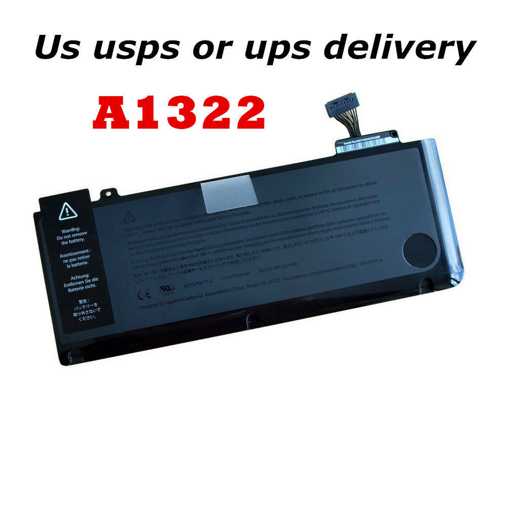 genuine a1322 battery for apple macbook pro 13 39 39 2011 mid. Black Bedroom Furniture Sets. Home Design Ideas