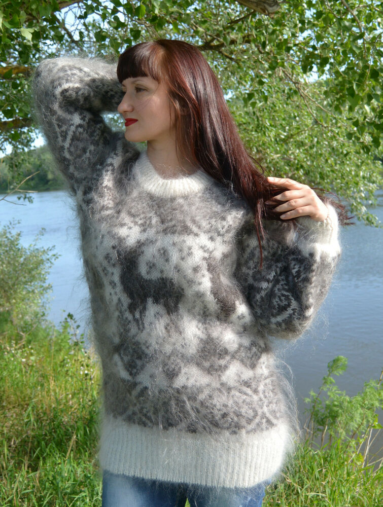 Angora Sweater Fetish 87