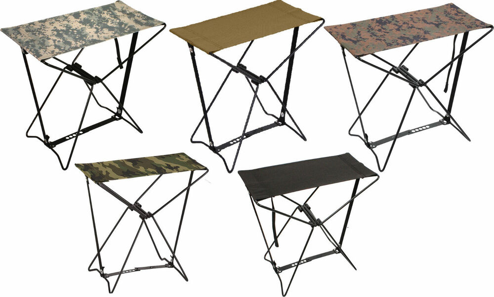 Rothco Folding Camp Stools Lightweight Portable Stool Ebay