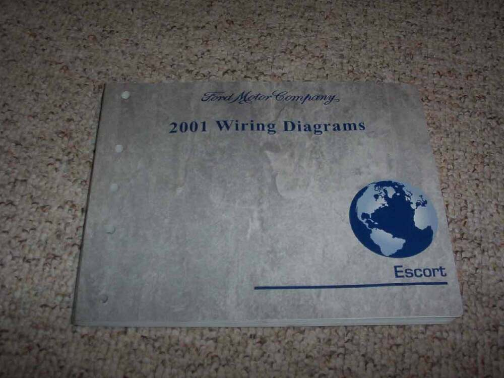 2001 Ford Escort Electrical Wiring Diagram Manual Zx2 2 0l
