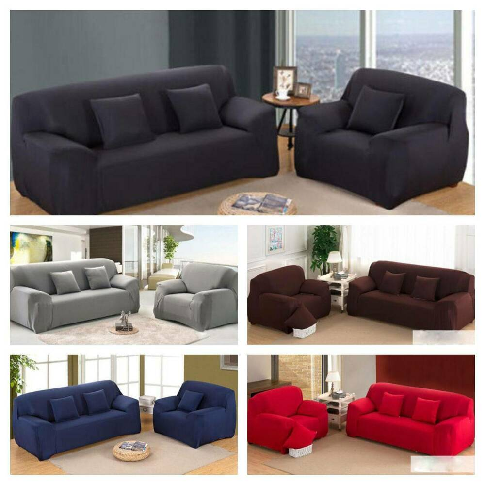 2017 HOT L Shape Stretch Elastic Fabric Sofa Cover Sectional Corner Couch  Covers