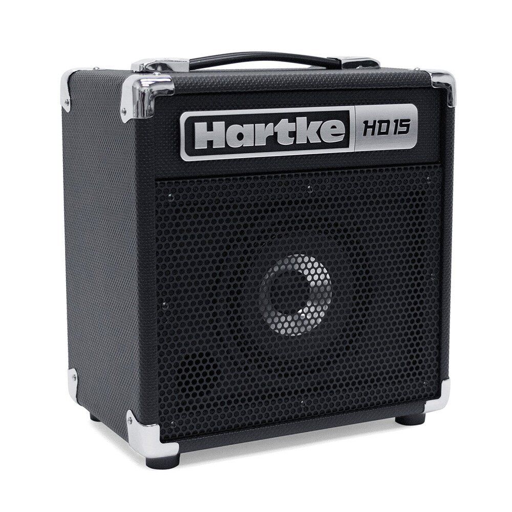 hartke hd15 15 watt bass combo amp practice small venue gig bedroom amplifier ebay. Black Bedroom Furniture Sets. Home Design Ideas