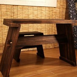 Kyпить Guqin table(resonation chamber!)+stool set, Solid paulownia wood共鸣箱古琴桌+凳(套) на еВаy.соm