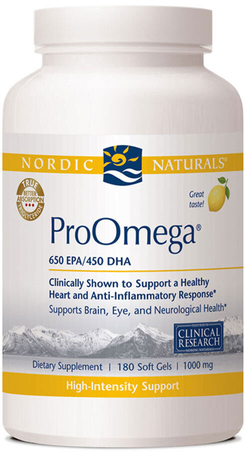 Nordic Naturals Fish Oil Proomega  D