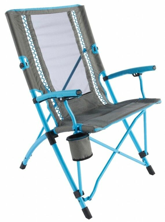 Coleman Camping Chair Bungee Folding Chair Blue