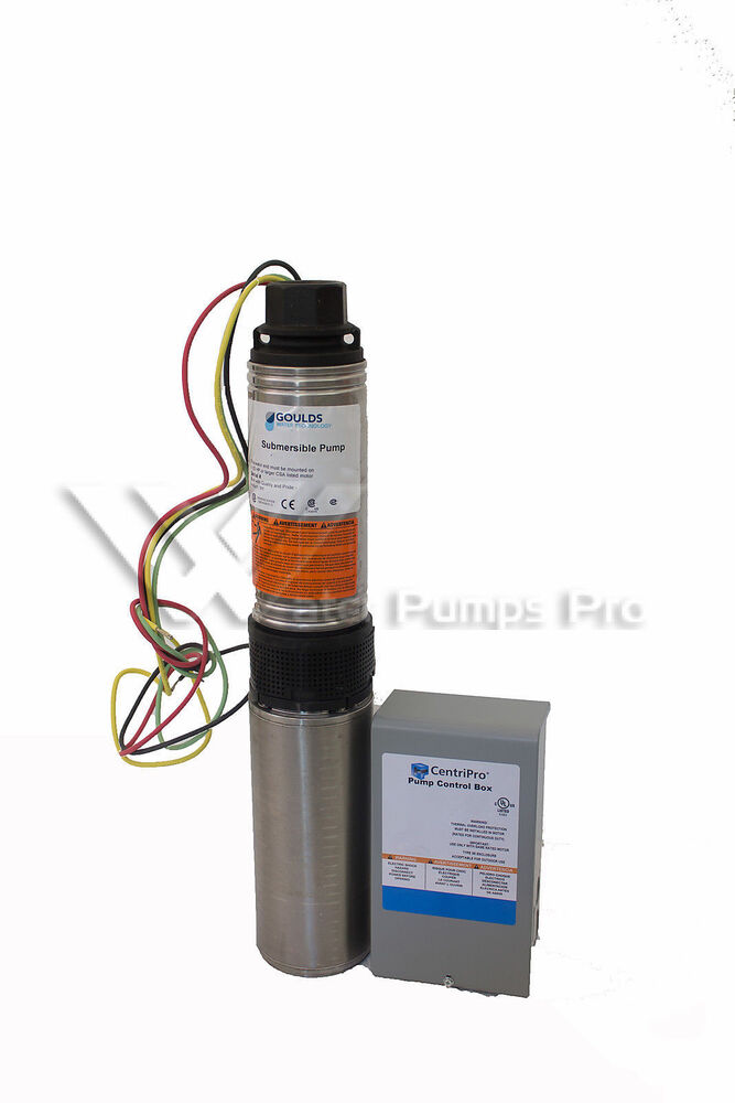 25hs15412c Goulds 25gpm 1 5hp Submersible Water Well Pump