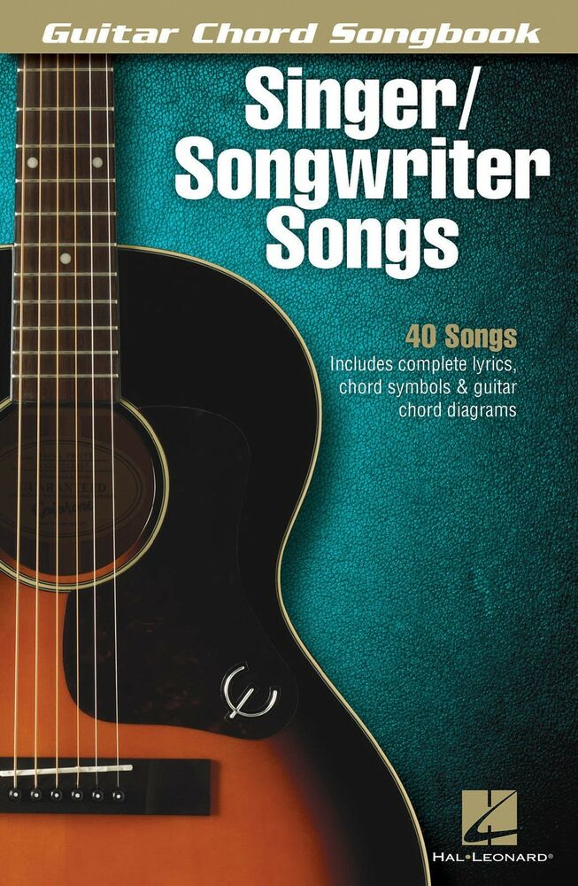 Singer Songwriter Guitar Chord Lyric Songs Sheet Music Song Book