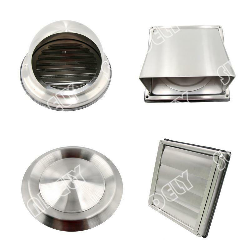 In 7 Sizes Stainless Steel Air Vent Duct Grill Tumble
