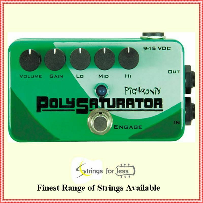 pigtronix pso polysaturator distortion guitar effects pedal ebay. Black Bedroom Furniture Sets. Home Design Ideas