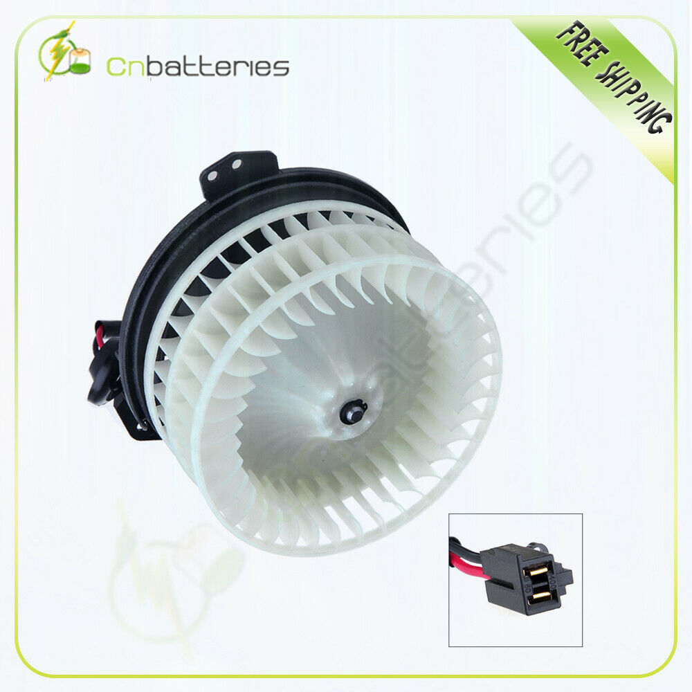 Heater blower motor abs plastic w fan for town and for Blower motor dodge caravan