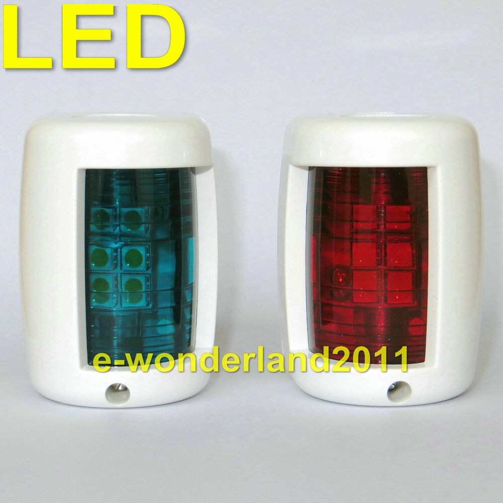12 Volt Marine Lights: Nav Lights Navigation Lights Mini Port/Starboard LED 12