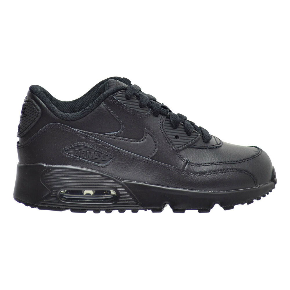 12e740afcd Details about Nike Air Max 90 LTR(PS) Little Kid's Shoes Black/Black  833414-001