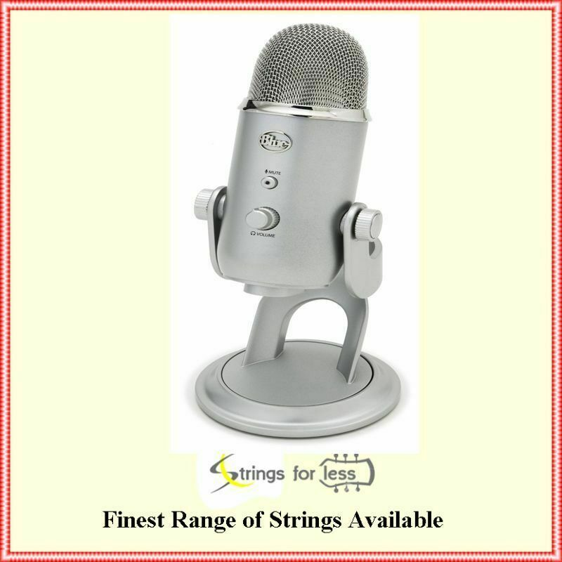 blue microphones yeti all purpose usb recording multi pattern microphone 836213001950 ebay. Black Bedroom Furniture Sets. Home Design Ideas