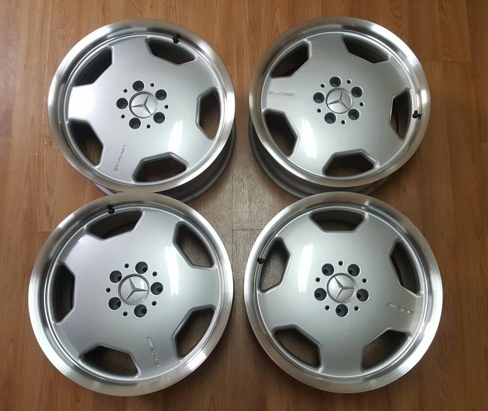 18 Quot Mercedes Amg Monoblock Oem Staggered Rims Wheels Clk