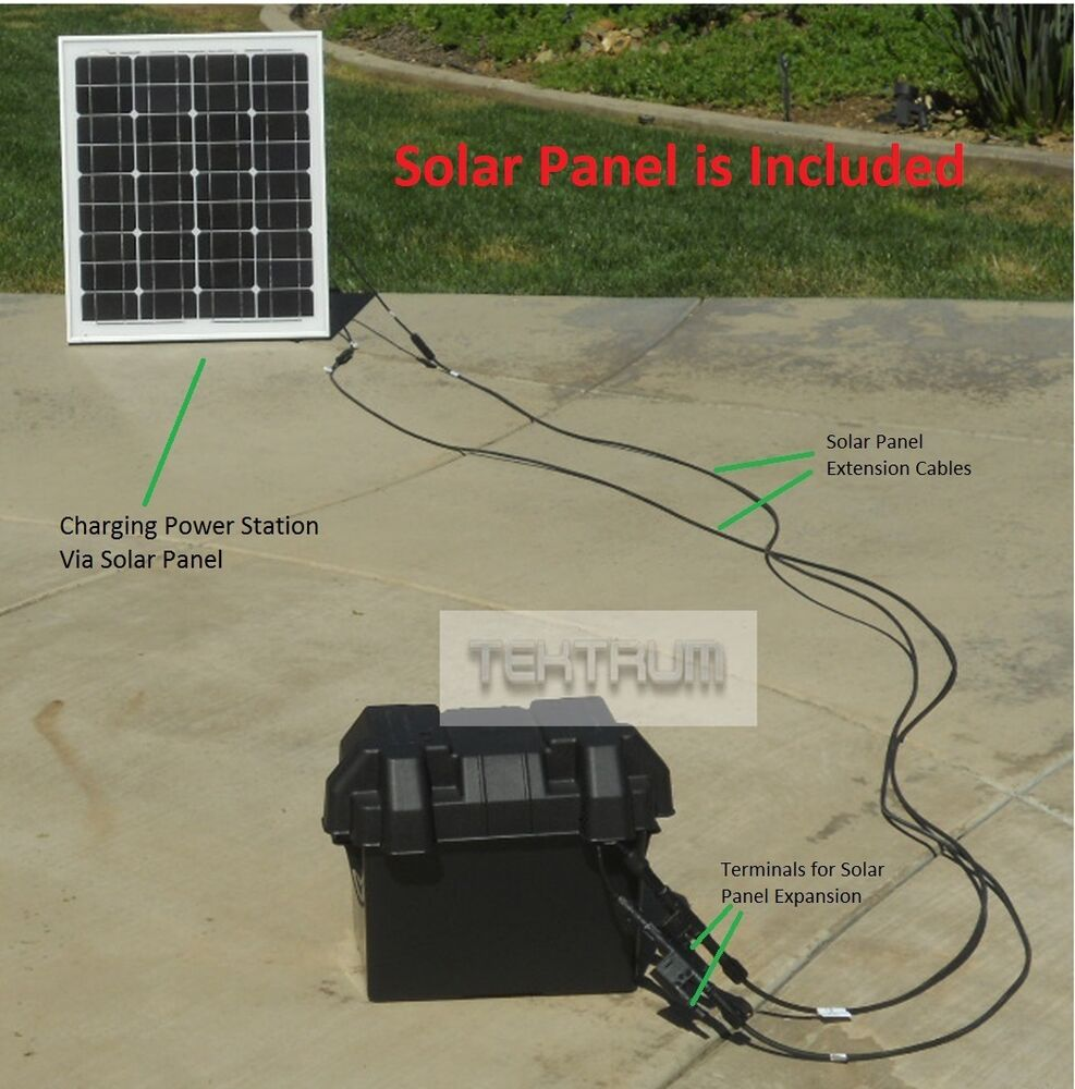 tektrum 1000w 1000 watt power pack station solar wall. Black Bedroom Furniture Sets. Home Design Ideas
