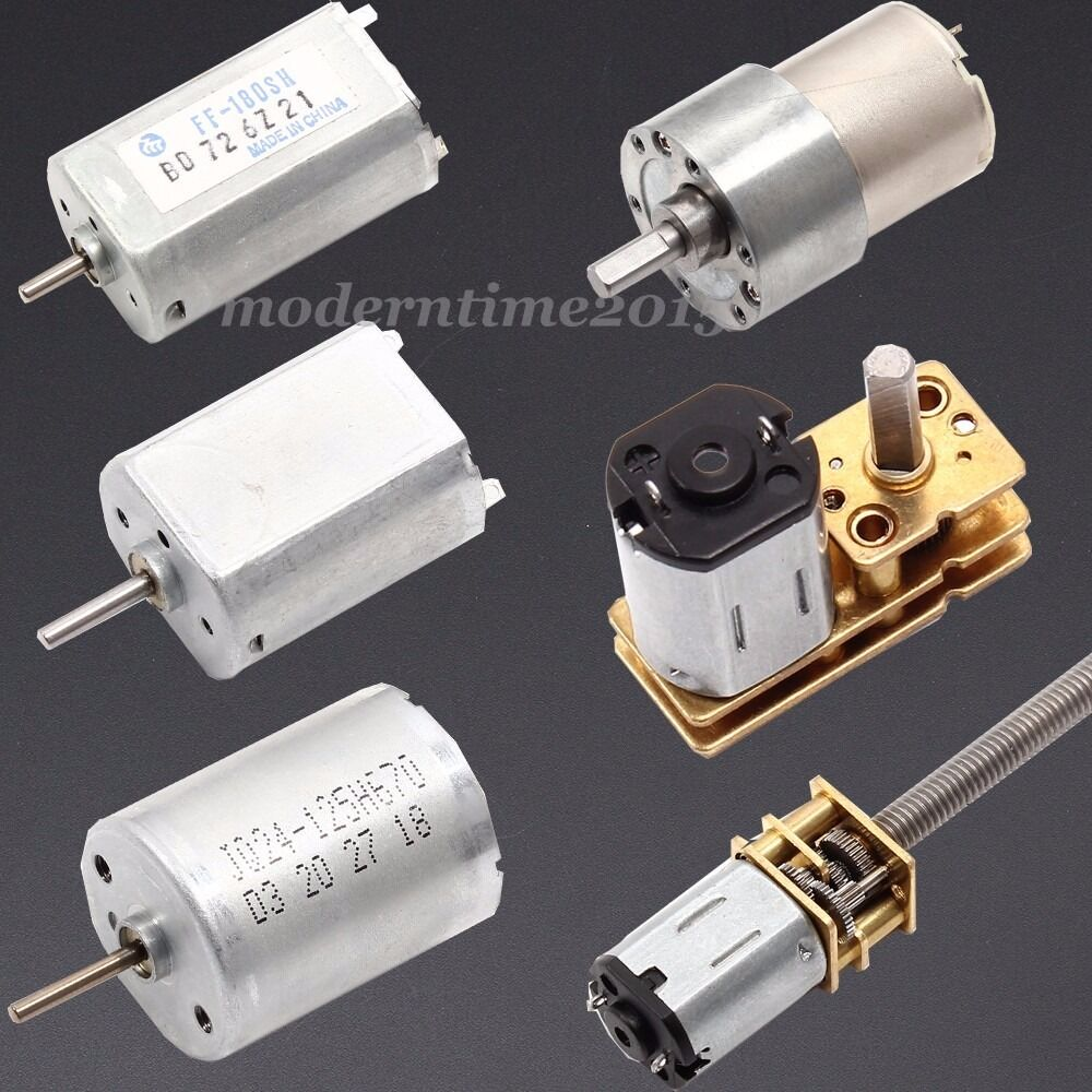 Dc 1 5v 12v high torque gear motor mute micro speed for Low rpm electric motor for rotisserie